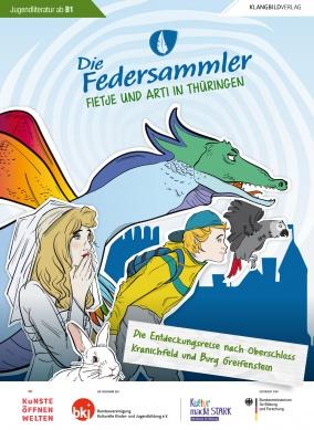 "DiE FEDERSammler 12 - ""Fietje und Arti in Thüringen"""